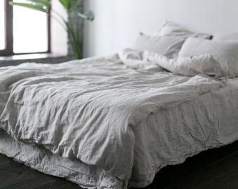 Льняное постельное белье! Основные достоинства и правила выбора.