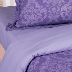 """Постельное белье поплин гладкокрашеный """"Византия фиолетовая"""""""