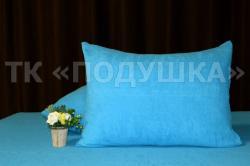 Купить голубые махровые наволочки на молнии в Казани