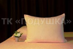 Купить персиковые махровые наволочки на молнии в Казани