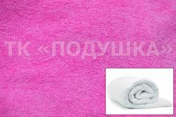 Купить розовый махровый пододеяльник  ТМ Подушка в Казани