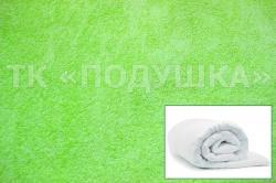 Купить салатовый махровый пододеяльник  в Казани