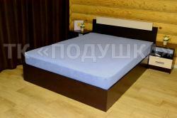 Купить синюю махровую простынь на резинке в Казани