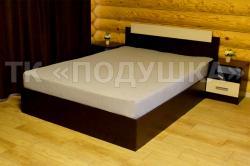 Купить серую махровую простынь на резинке в Казани