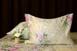 Купить наволочки на молнии из сатина «Римский дворик 1» (2 штуки) в Казани